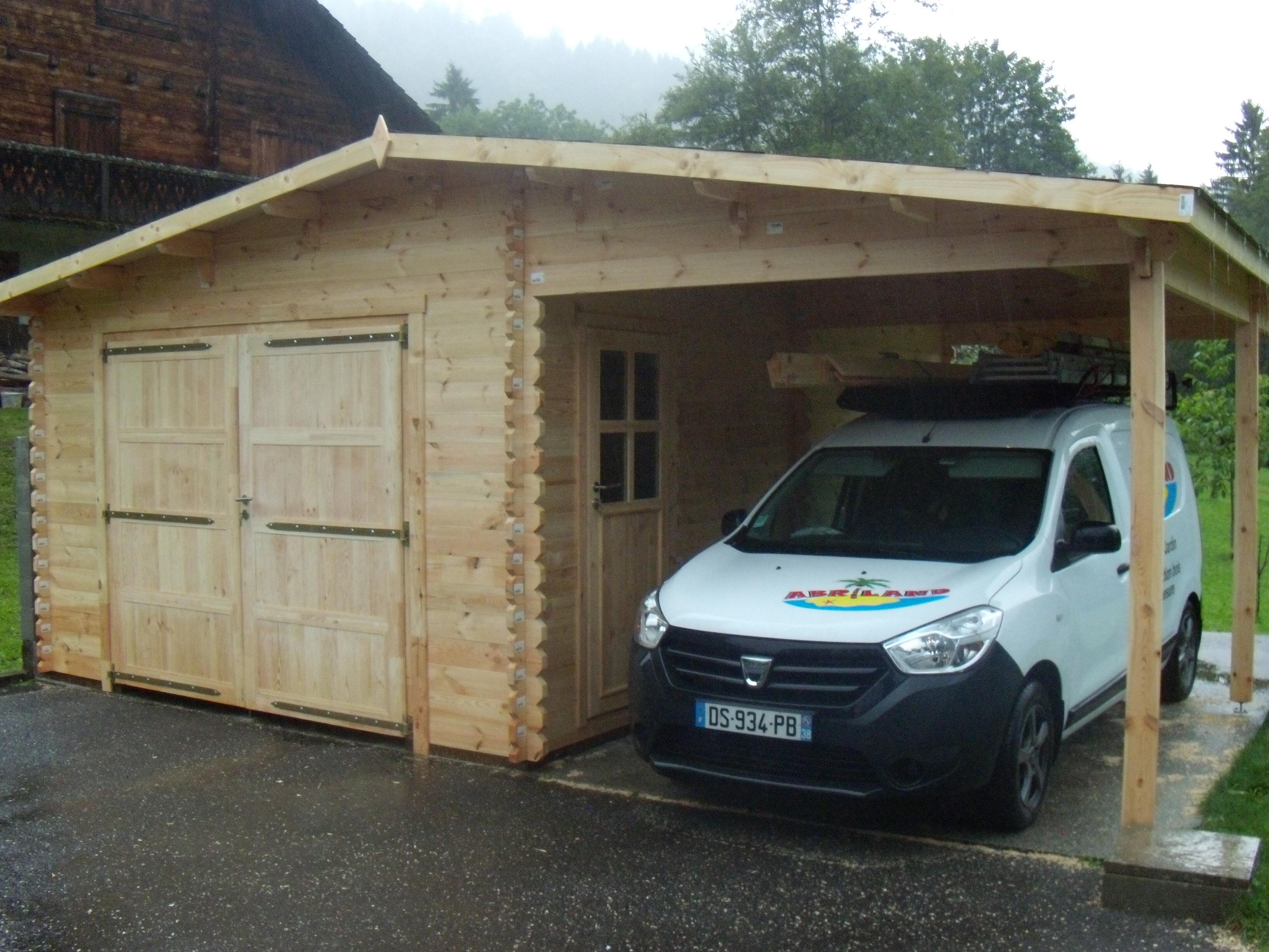 Garage abriland for Carport 4x6m